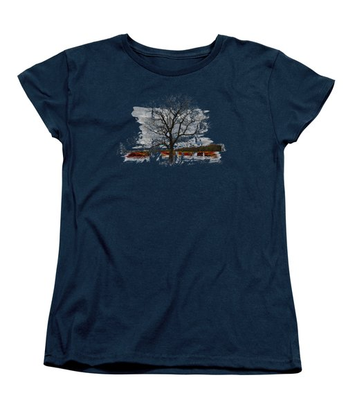 On To Beginnings Women's T-Shirt (Standard Cut) by John M Bailey