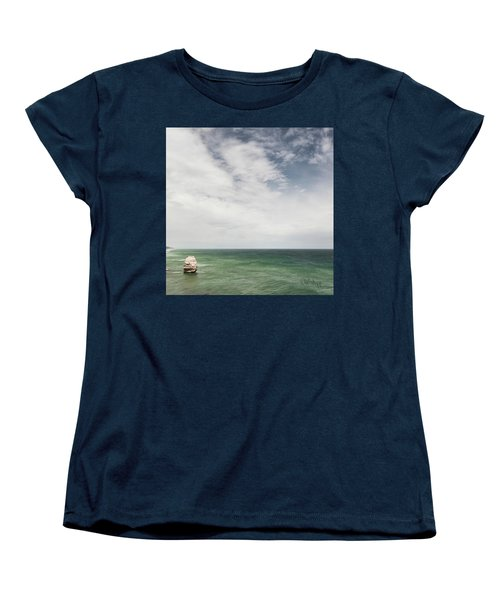 Women's T-Shirt (Standard Cut) featuring the photograph One Apostle by Joseph Westrupp