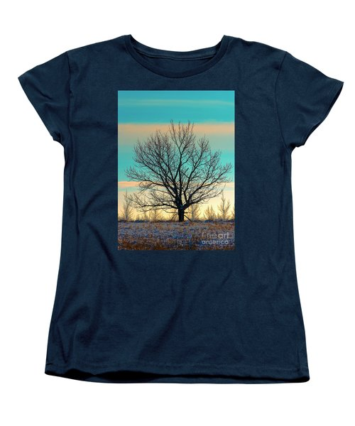 Women's T-Shirt (Standard Cut) featuring the photograph One by Nina Stavlund