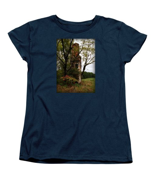 Only Thing Left Standing Women's T-Shirt (Standard Cut) by Katie Wing Vigil
