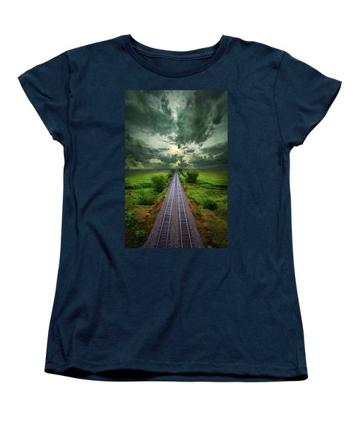 Onward Women's T-Shirt (Standard Cut) by Phil Koch