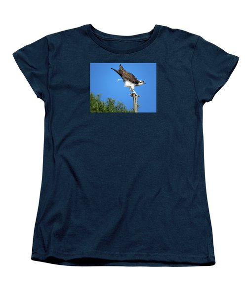 Women's T-Shirt (Standard Cut) featuring the photograph Oops by Phyllis Beiser
