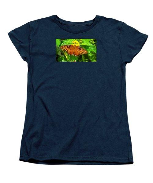 Open Wings Women's T-Shirt (Standard Cut) by Judy Wanamaker