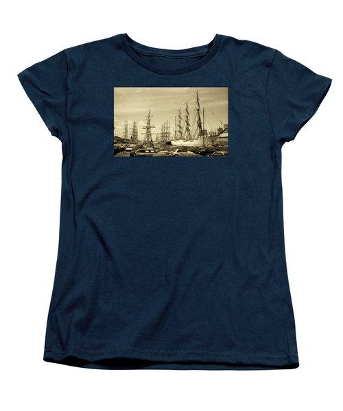 Operation Sail 1992 Brooklyn Women's T-Shirt (Standard Cut)