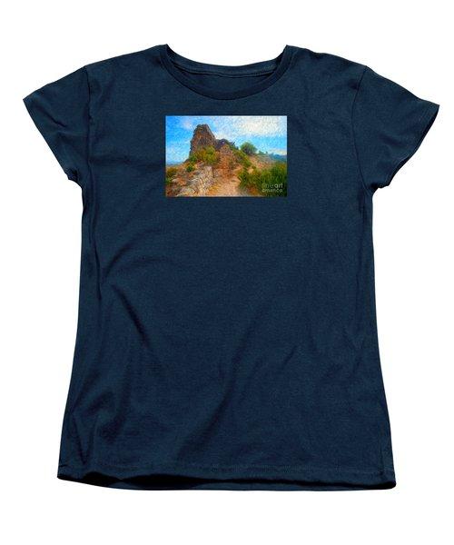 Opoul Castle Ruins Women's T-Shirt (Standard Cut)