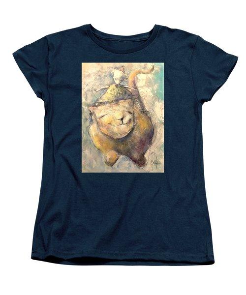Opposites Attract Women's T-Shirt (Standard Cut)