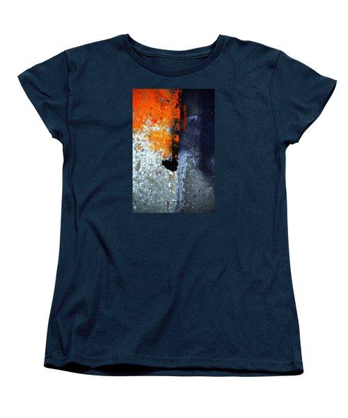 Orange Women's T-Shirt (Standard Cut) by Newel Hunter