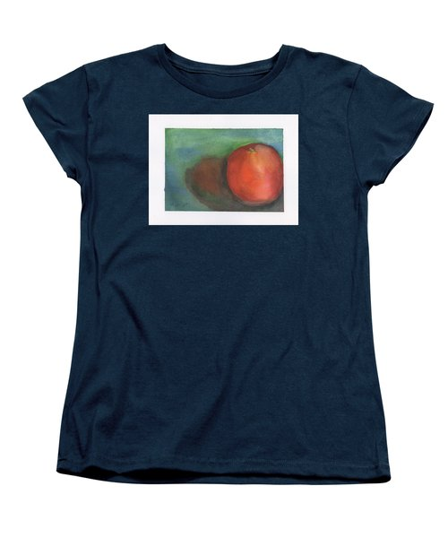 Women's T-Shirt (Standard Cut) featuring the painting Orange Still Life by Frank Bright