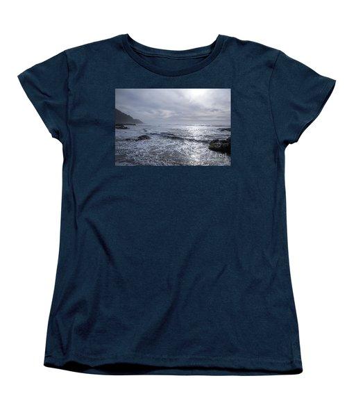 Oregon Coast Women's T-Shirt (Standard Cut) by Billie-Jo Miller