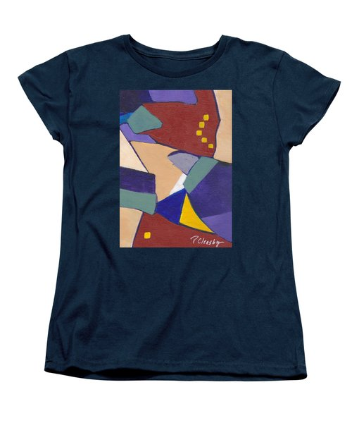 Organic Abstract Series IIi Women's T-Shirt (Standard Cut) by Patricia Cleasby