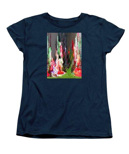Organic Impressions 4 Women's T-Shirt (Standard Cut) by Cedric Hampton