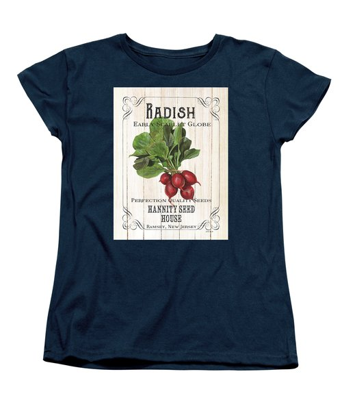 Women's T-Shirt (Standard Cut) featuring the painting Organic Seed Packet 3 by Debbie DeWitt