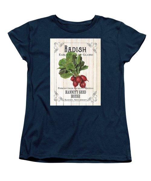 Organic Seed Packet 3 Women's T-Shirt (Standard Cut) by Debbie DeWitt
