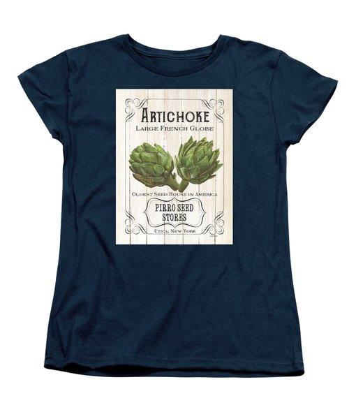 Organic Seed Packets 1 Women's T-Shirt (Standard Cut) by Debbie DeWitt