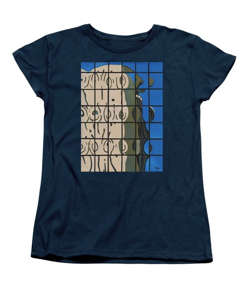 Osborn Reflections Women's T-Shirt (Standard Cut) by Alika Kumar