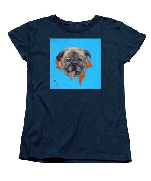 Women's T-Shirt (Standard Cut) featuring the painting Oscar by Donelli  DiMaria