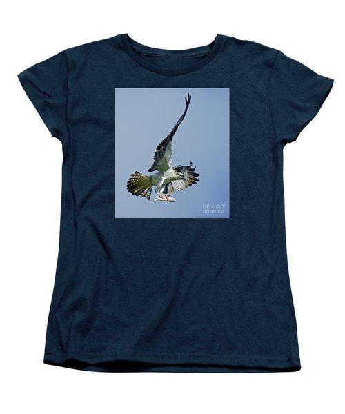 Osprey Success Women's T-Shirt (Standard Cut) by Larry Nieland