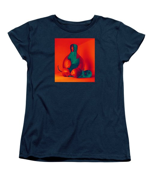 Women's T-Shirt (Standard Cut) featuring the photograph Otherworldly Habaneros by Shawna Rowe
