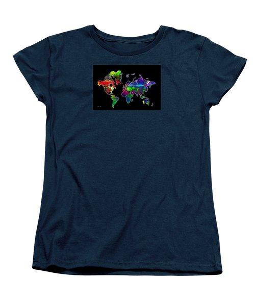 Our Colorful World Women's T-Shirt (Standard Cut) by Randi Grace Nilsberg