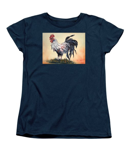 Our Rooster Family Women's T-Shirt (Standard Cut)