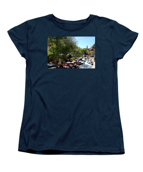Women's T-Shirt (Standard Cut) featuring the photograph Ourika Valley 1 by Andrew Fare