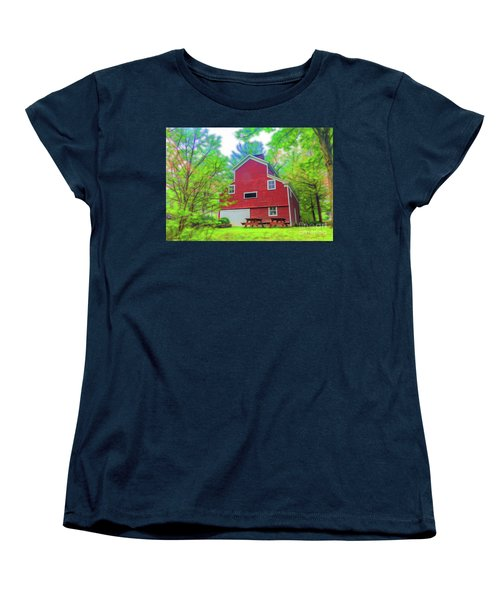 Out In The Country Women's T-Shirt (Standard Cut) by Jim Lepard