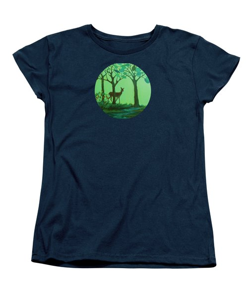 Out Of The Forest Women's T-Shirt (Standard Cut) by Mary Wolf