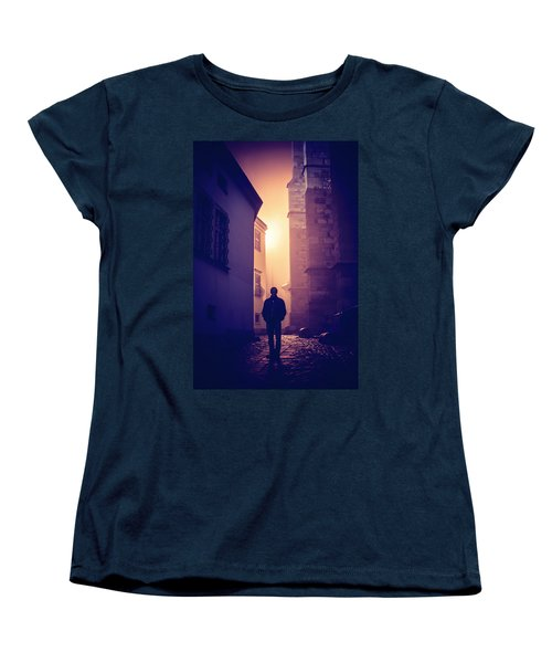 Women's T-Shirt (Standard Cut) featuring the photograph Out Of Time by Jenny Rainbow