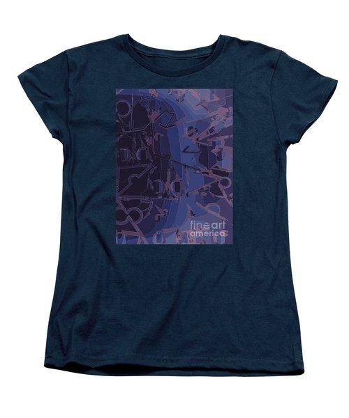Touch Away Women's T-Shirt (Standard Cut) by Moustafa Al Hatter