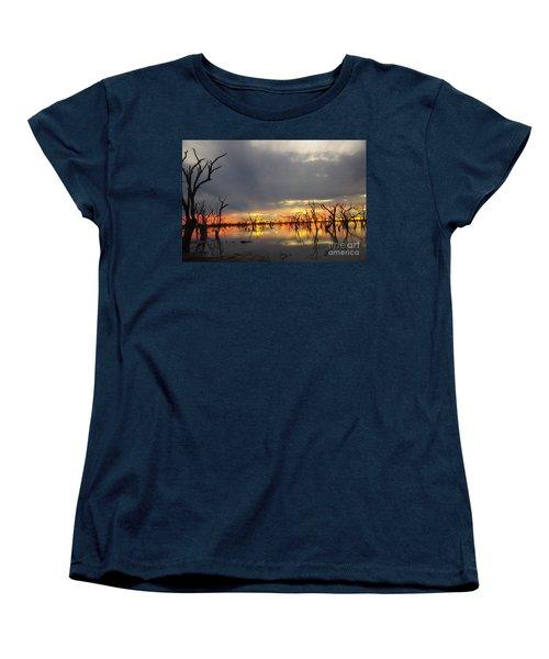 Outback Sunset Women's T-Shirt (Standard Cut) by Blair Stuart