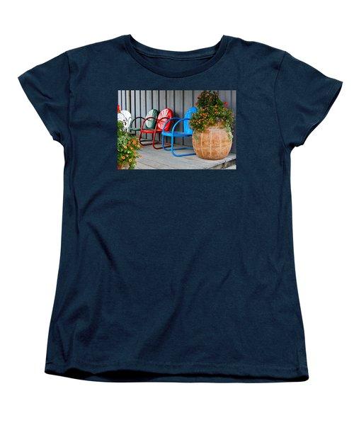 Outdoor Living Women's T-Shirt (Standard Cut) by Karon Melillo DeVega
