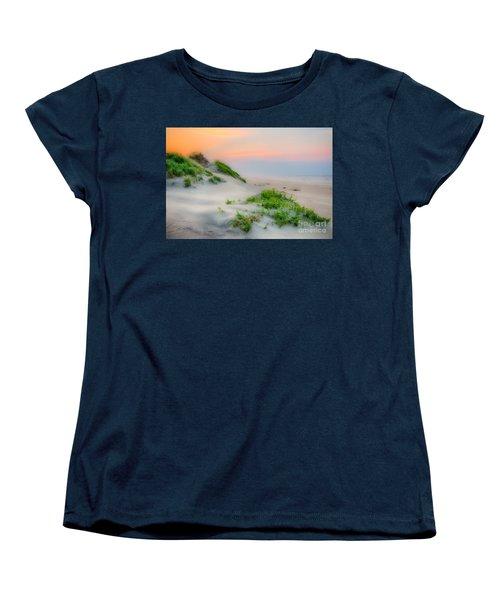 Outer Banks Soft Dune Sunrise Women's T-Shirt (Standard Cut) by Dan Carmichael