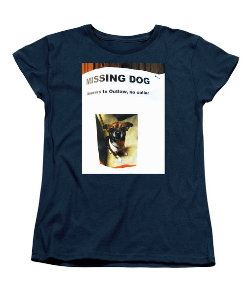Women's T-Shirt (Standard Cut) featuring the photograph Outlaw by Joe Jake Pratt