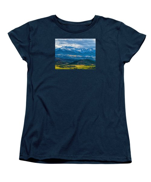 Outside Of Ridgway Women's T-Shirt (Standard Cut) by Alana Thrower