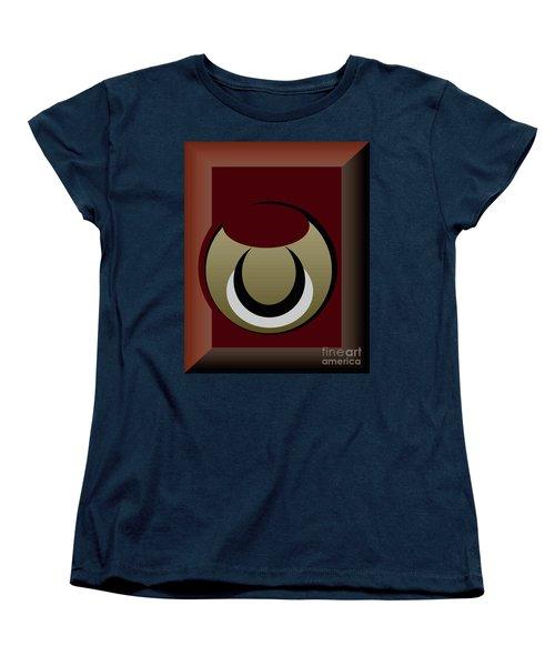 Women's T-Shirt (Standard Cut) featuring the digital art Outside The Box by John Krakora