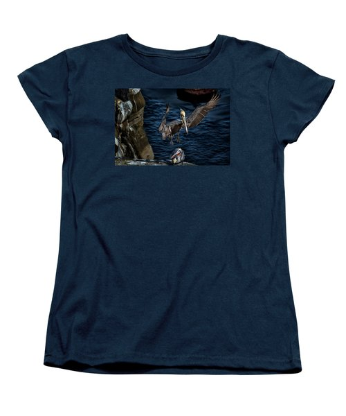 Outstretched Wings Women's T-Shirt (Standard Cut) by James David Phenicie