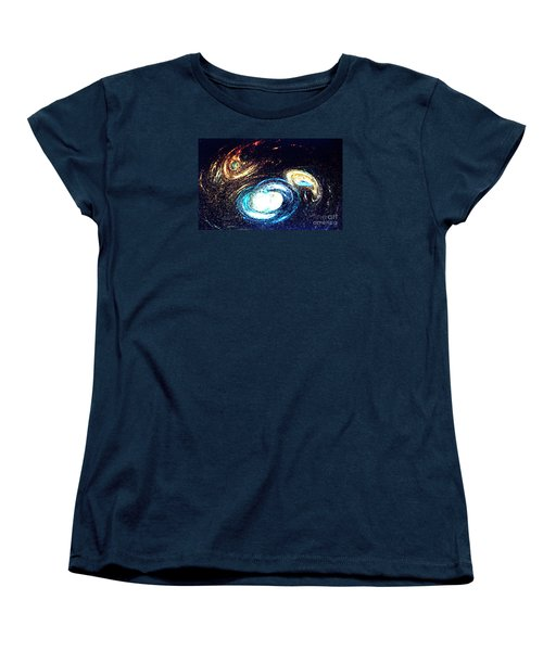 Oval Dream - Modern Art Women's T-Shirt (Standard Cut) by Merton Allen