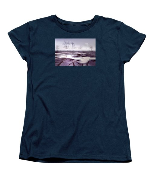 Over And Over Again Women's T-Shirt (Standard Cut) by Diana Angstadt