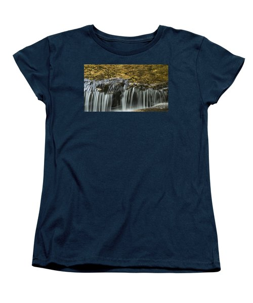 Women's T-Shirt (Standard Cut) featuring the photograph Over The Edge by Alana Ranney
