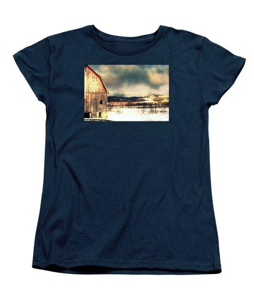 Women's T-Shirt (Standard Cut) featuring the photograph Over Yonder by Julie Hamilton