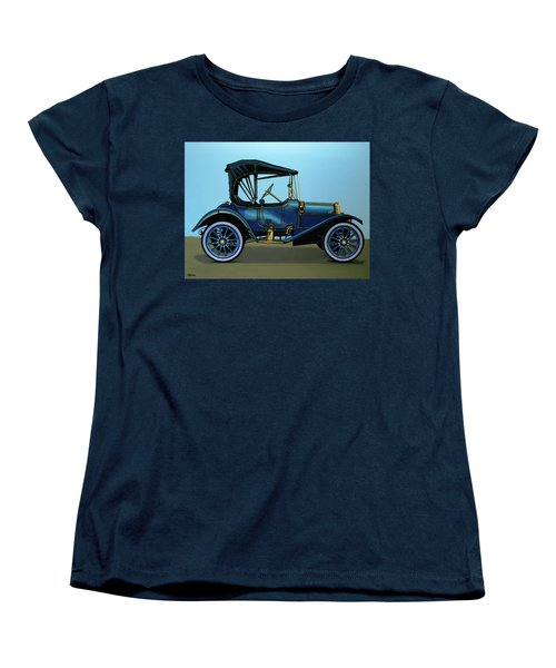 Overland 1911 Painting Women's T-Shirt (Standard Cut) by Paul Meijering