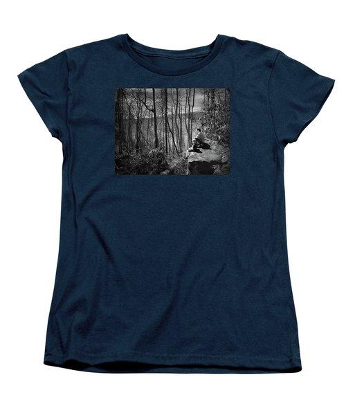 Overlook By Rainbow Falls Women's T-Shirt (Standard Cut) by Kelly Hazel