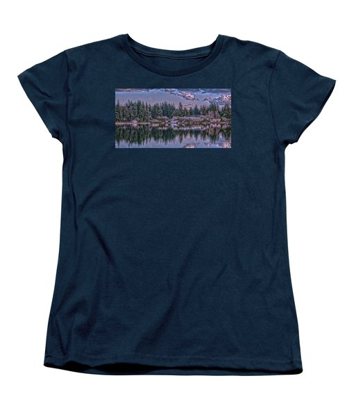 Oyster Bay 1 Women's T-Shirt (Standard Cut) by Timothy Latta
