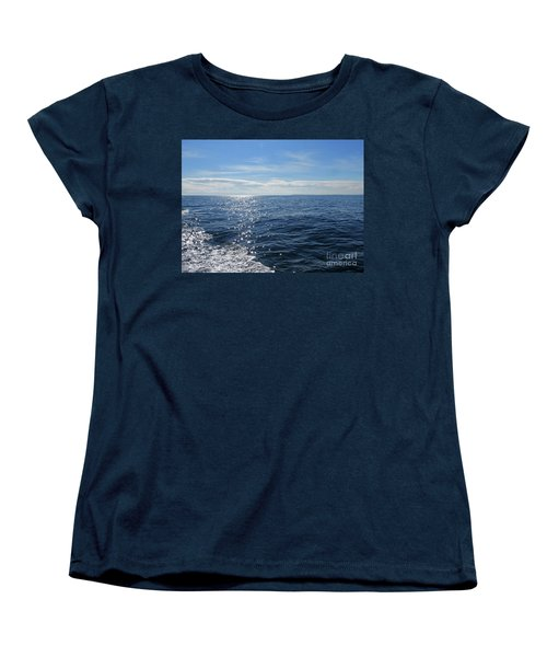 Pacific Ocean Women's T-Shirt (Standard Cut) by Cindy Murphy - NightVisions