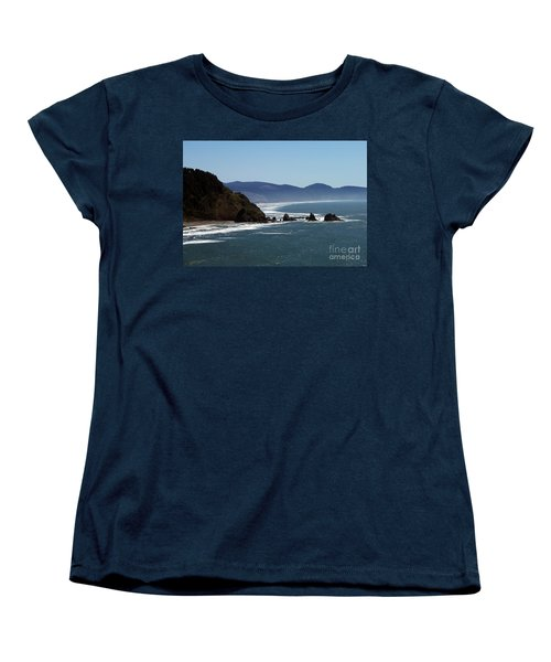 Pacific Ocean View 2 Women's T-Shirt (Standard Cut) by Chalet Roome-Rigdon