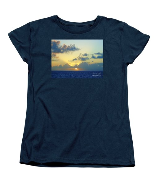 Pacific Sunrise, Japan Women's T-Shirt (Standard Cut) by Susan Lafleur