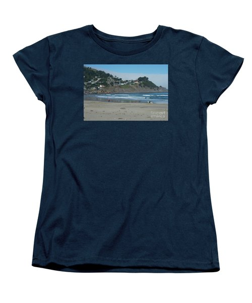 Women's T-Shirt (Standard Cut) featuring the photograph Pacifica California by David Bearden