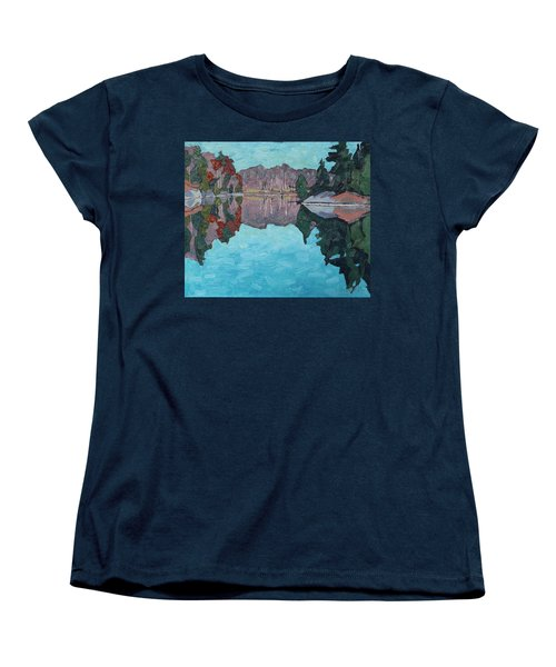 Paddling Home Women's T-Shirt (Standard Cut)