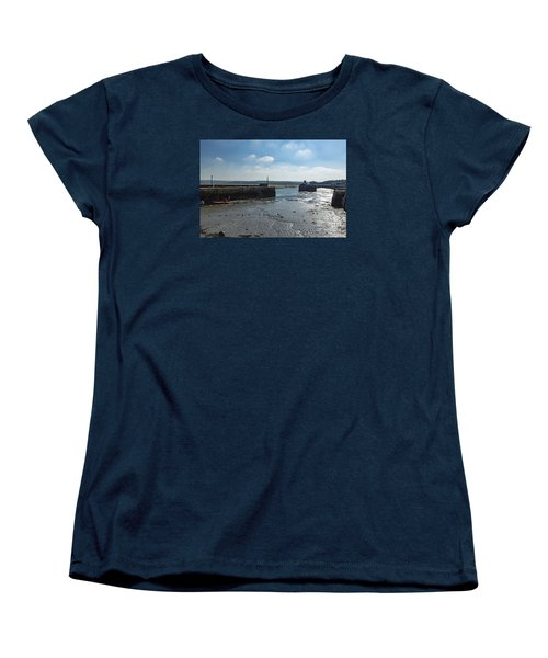 Padstow Harbour Women's T-Shirt (Standard Cut) by Brian Roscorla