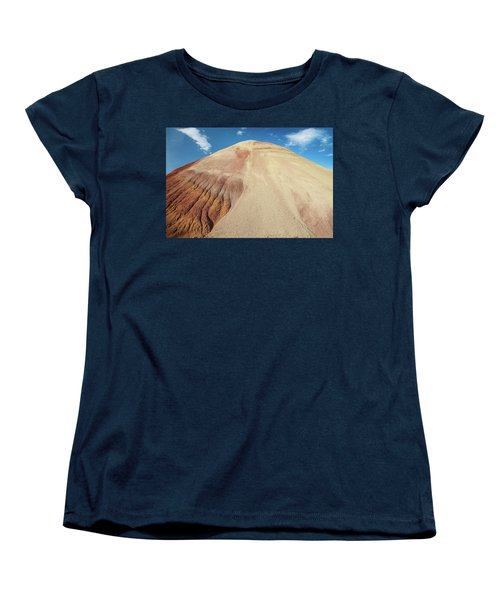 Women's T-Shirt (Standard Cut) featuring the photograph Painted Mound by Greg Nyquist